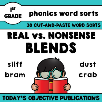 Nonsense Word Sorts Blends (Cut and Paste Activities)