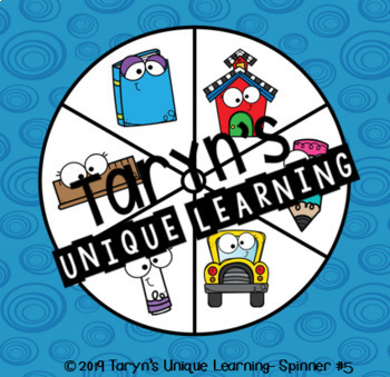 Nonsense Words Spin and Say- August/September Edition