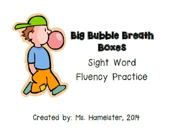 Nonsense Word and Phoneme Segmentation Fluency Practice (Editable)