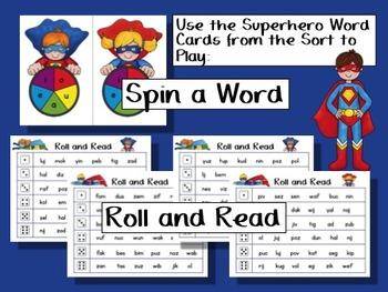 Nonsense Word Fluency Games