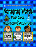 Nonsense Words Activities – Christmas & Winter (supports AIMSweb and DIBELS)