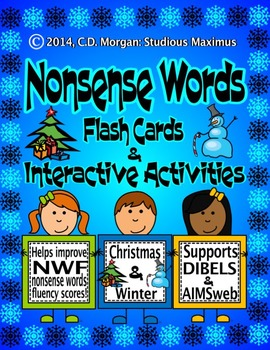 Nonsense Words Activities – Christmas & Winter (supports A