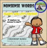 Nonsense Words Charts and Lists (Consonant blends)