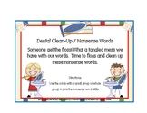 Nonsense Words ( Dental Theme)