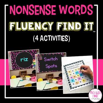 Nonsense Words Fluency Find It