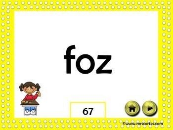 Nonsense Words Fluency Interactive Slide Show