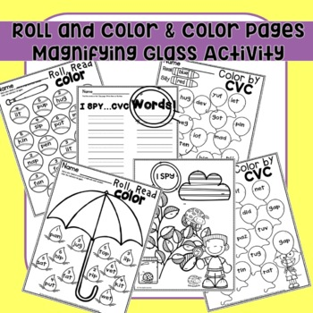 Nonsense Words Fluency Worksheets