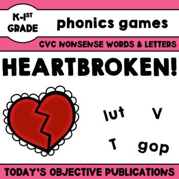 Nonsense Words Game - Heartbroken