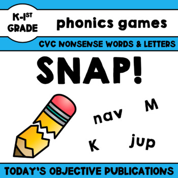 Nonsense Words Game-Oh Snap!