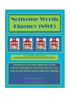 Nonsense Words Homework Fluency DIBELS Aimsweb