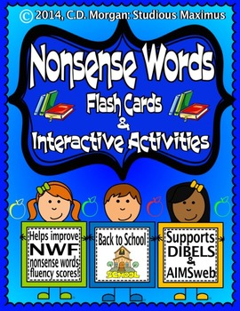 Nonsense Words – Interactive Activities. (Supports AIMSweb