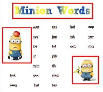 Nonsense Words (Minion)