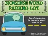 Nonsense Words Parking Lot ( RtI game)