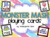 CVC Nonsense Words Playing Cards
