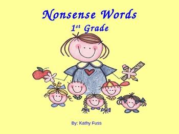 Nonsense Words (Power Point)