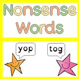 Nonsense Words Pseudo Generator
