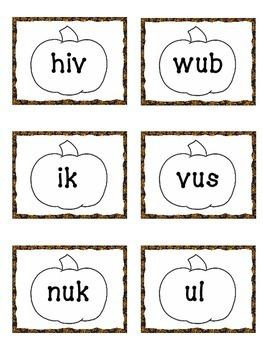 Nonsense Words-Pumpkins