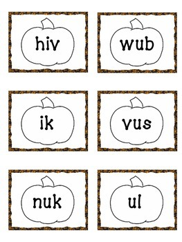 Nonsense Words-Pumpkins