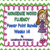 Nonsense Word Fluency Powerpoint Bundle by Ms. Lendahand (