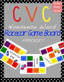 Nonsense Words: Racecar game to practice long vowels, short vowels, and blends
