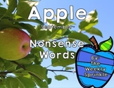 Nonsense Words Sort Apples - September
