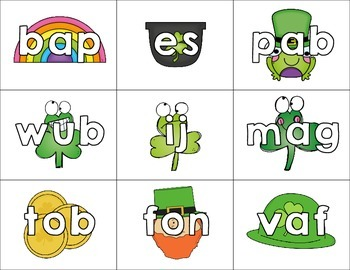 Nonsense Words Sort Lucky You - March