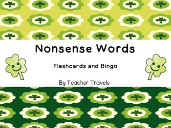 Nonsense Words St. Patrick's Day Theme