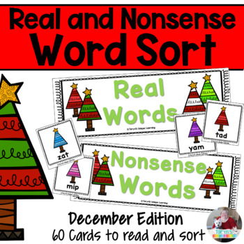 Nonsense Words and Real Words Sort- December