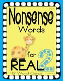 Nonsense Words 2