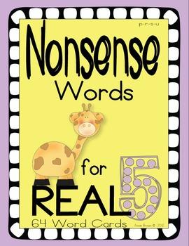 Nonsense Words 5