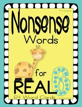 Nonsense Words 6