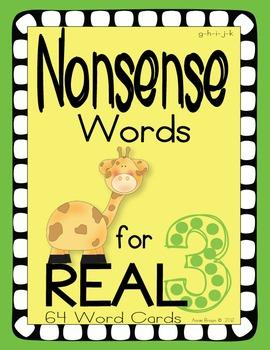 Nonsense Words 3
