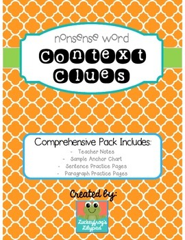 Context Clues (Nonsense Words for Intermediate Grades)