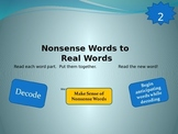 Nonsense Words to Real Words Level 2