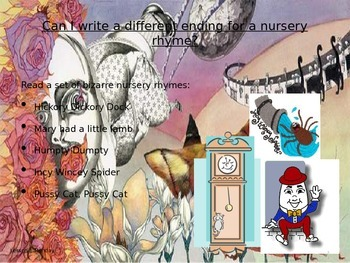 Nonsense nursery rhymes and poems