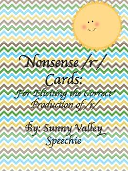 Nonsense /r/ Cards