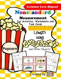 Nonstandard Measurement Activities, Worksheets and Task Cards
