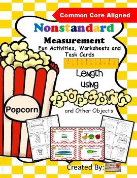 Nonstandard Measurement Activities, Worksheets and Task Cards