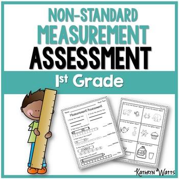 Nonstandard Measurement Assessment 1st Grade