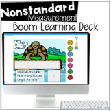 Nonstandard Measurement - BOOM CARDS™ - Distance Learning