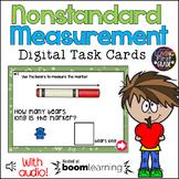 Nonstandard Measurement Back to School BOOM Cards™ * Dista