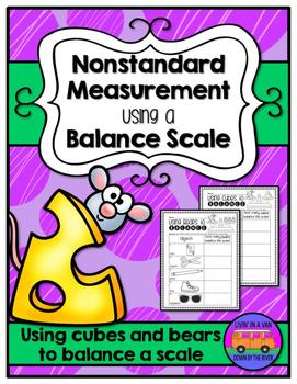 Nonstandard Measurement - Balance Scale