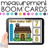 Nonstandard Measurement Boom™ Cards - Distance Learning fo