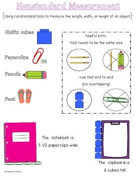 Nonstandard Measurement Chart