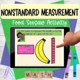 Nonstandard Measurement Food Seesaw Activity
