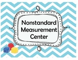 Nonstandard Measurement Math Center using Cubes