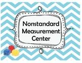 Nonstandard Measurement Math Center using Cubes