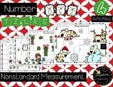 Nonstandard Measurement Number Tiles FREEBIE!!