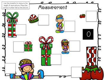 Nonstandard Measurement Number Tiles FREEBIE!!