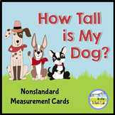 Nonstandard Measurement Task Cards
